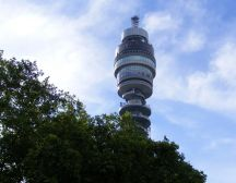 BT Tower - Fitzrovia treasure hunt