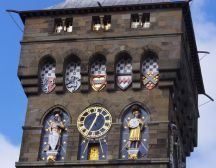 Castle clock tower - Cardiff treasure hunt
