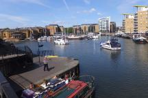 Limehouse Basin - Canary Wharf: Docklands treasure hunt