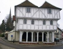 Thaxted guildhall - Essex treasure hunt