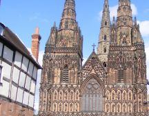 Lichfield Cathedral - Lichfield treasure hunt