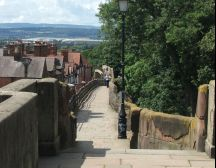 Chester treasure hunt - city walls