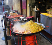 Southwark treasure hunt - Brood Cafe paella